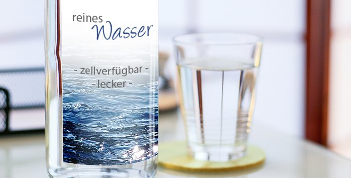 Reines Wasser: Das Mittel für mehr Leben