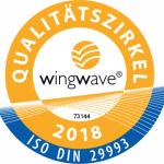 Siegel des wingwave Qualitätszirkels 2018
